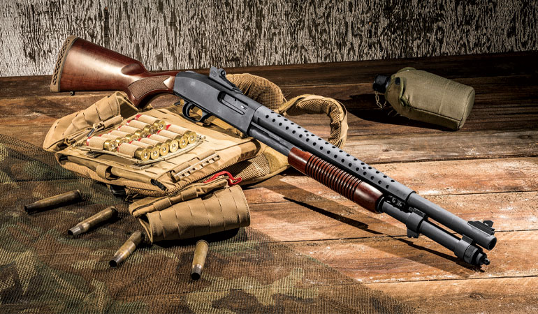 Mossberg 590A1 Retrograde Shotgun Review