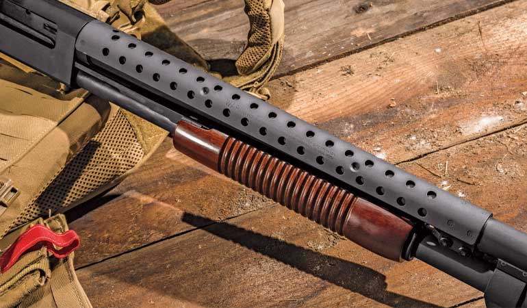 Mossberg-590A1-Retrograde-Pump