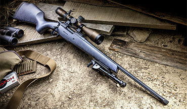 Mossberg's Patriot line of bolt-action rifles is growing for 2020, and the newest addition, the Patriot LR Hunter, is designed with serious long-­range hunters in mind.