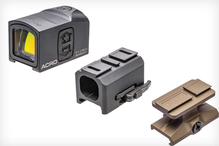 AR-15 Mounting Options for the Aimpoint ACRO Red Dot Sight
