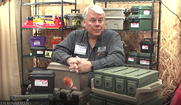 Allen Minneman showcases new products from MTM Case-Gard at NRA 2019.