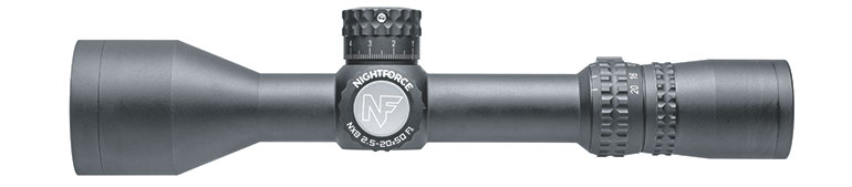 NX8 Nightforce Scopes