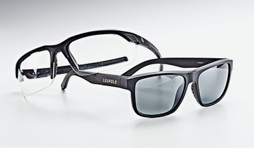Each of Leupold's eyewear models are made in the U.S. and all feature stylish lightweight frames and scratch resistant lenses, but there are a few differences between them.