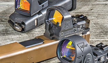 "Mounting a red-dot sight (RDS) to your pistol gives you an almost unfair advantage. However, for many shooters the question is, ""Which RDS should I buy?"" In an effort to help narrow your search, here are snapshots of six of the industry's newest red-dot pistol sights."