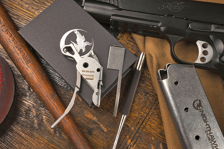 Nighthawk Custom 1911 Drop-In Trigger System – First Look