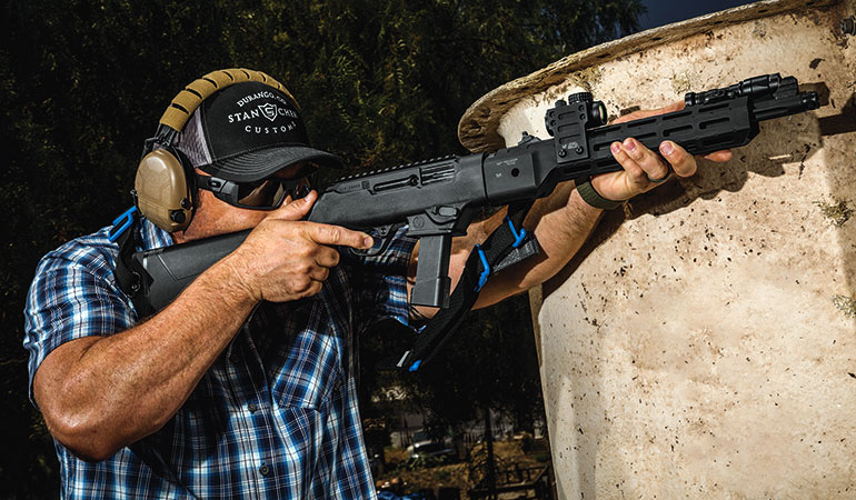 Pistol Caliber Carbine Considerations for Home Defense