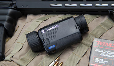 The new Pulsar Axion monocular scopes place the power of thermal imaging in the palm of your hand.