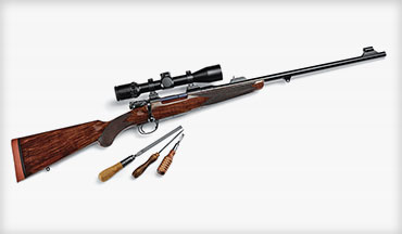 Known for large-caliber hunting rifles, John Rigby & Co. recently introduced the small-caliber Highland Stalker after considerable research.
