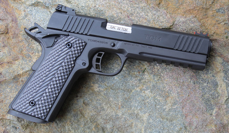 Rock Island offers a two-for-one deal with their TAC Ultra FS Combo. For less than $900 you're getting a functional, well-built, full-sized 1911 9mm as well as a .22 that offers considerably more energy than a .22LR.