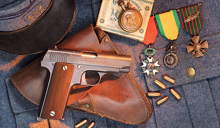 This Spanish-made .32 became a mainstay of French forces in World War I.