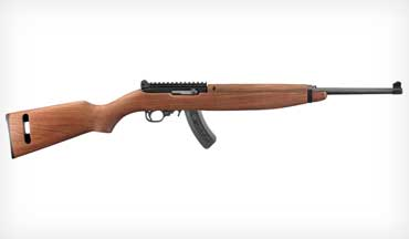 The Ruger 10/22 M1 Carbine is a fun retro that anyone can own and shoot.