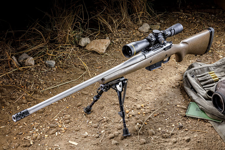 The Ruger M77 Hawkeye Long-Range Hunter in 6.5 PRC is sub-MOA-accurate rifle that'll easily handle deer and antelope at whatever distance the hunter is confident in shooting.