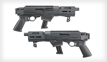 Ruger has introduced the new PC Charger, a 9mm pistol based on their PC Carbine Chassis model.
