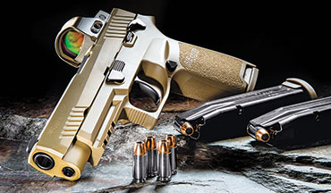 If you're in need of a pistol to bet your life on, look no further than the pistol that won over the U.S. Army, the SIG Sauer P320 - M17.
