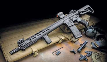 The SIG Sauer M400 Tread takes the 'economy' AR to the premium level.