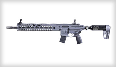 SIG Sauer, Inc. announced its MCX Virtus pre-charged pneumatic (PCP) Air Rifle is now shipping.