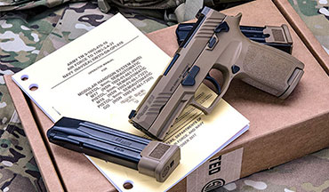 SIG SAUER, Inc. announced the M18 successfully completed a recent Lot Acceptance Test with zero stoppages during the required MHS Material Reliability Testing.