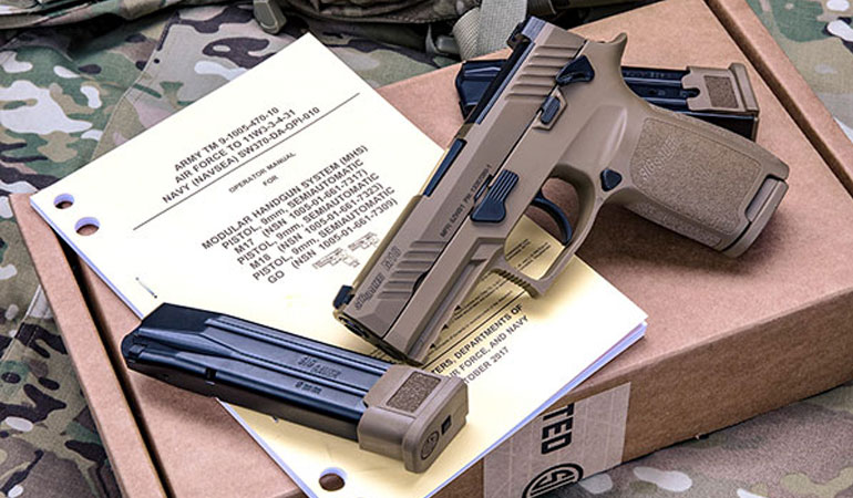 SIG SAUER M18 Sets New Standard for U.S. Army's MHS Reliability Testing