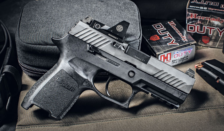 My Day at the Sig Sauer Academy with the SIG P320