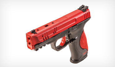 The SIRT (Shot Indicating Resetting Trigger) Training Pistols offer realistic laser training.