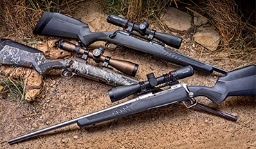 It's important that you select a quality rifle, optic and cartridge appropriate for the game you intend to pursue. Here are three Savage 110 rifle-scope-ammo combos that work perfect for an African plains- game safari.