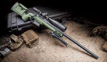 The Seekins Precision Havak Bravo is a nice do-­it-­all rifle and is available in 6mm Creedmoor, 6.5 Creedmoor, 6.5 PRC and .308 Winchester.