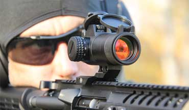 The durable, affordable Sightmark Element 1x30 Red Dot Sight is the ultimate reflex sight for your firearm.