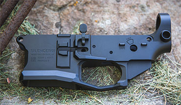 SilencerCo announced its new SCO15 AR-15 lower receiver, made from billet 7075-T6 aluminum and precision machined for compatibility with all your preferred parts.