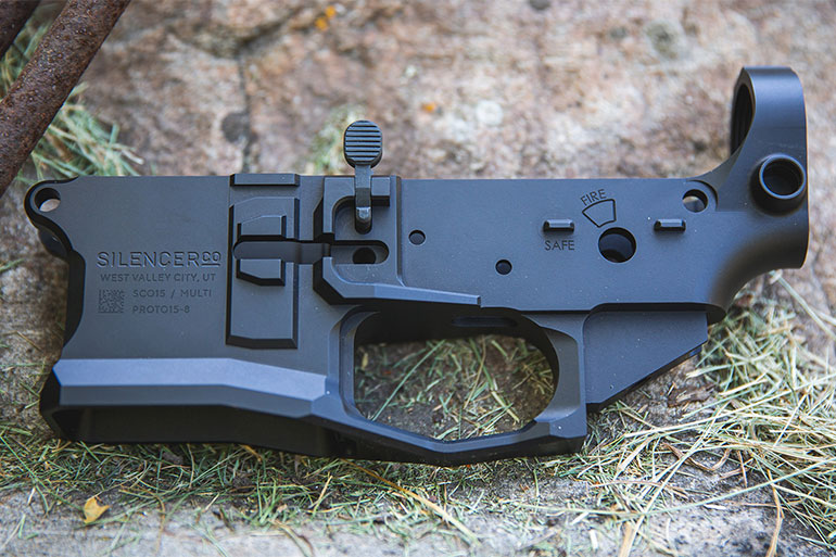 SilencerCo SCO15 Lower Receiver – First Look
