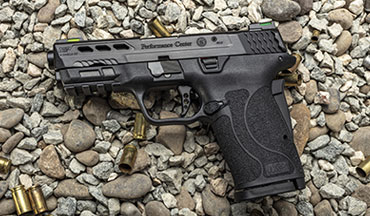 The Performance Center perfects the easiest shooting single-stack 9mm on the market – the Smith & Wesson PC M&P 9 Shield EZ.