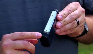 The Springfield Hellcat's flush-fit magazine will carry 11+1 rounds, while the extended magazine, included with the Hellcat, takes capacity to 13+1.