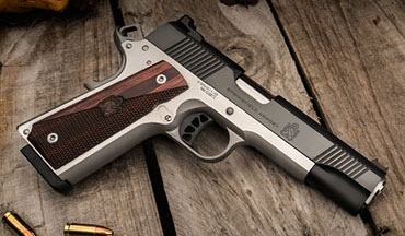 New for 2020 is the Springfield Ronin Operator, a rugged and reliable 1911 pistol built for a lifetime of service at an MSRP of $849.