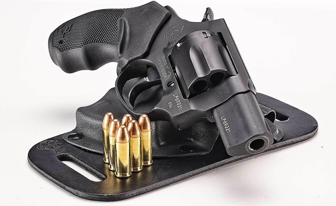 If you're in the market for a small, concealable, self-defense arm that's as easy on recoil as it is the bank account, it may be time to take a walk on the cylinder side of things and explore the Taurus UL 856 revolver.