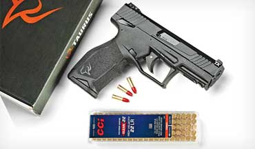 The Taurus TX22 rimfire shoots like no other.