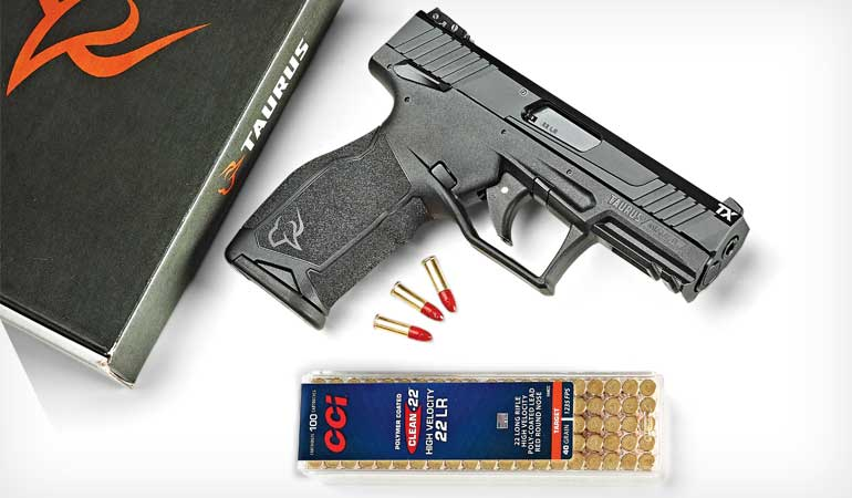 Taurus TX22 Rimfire Review