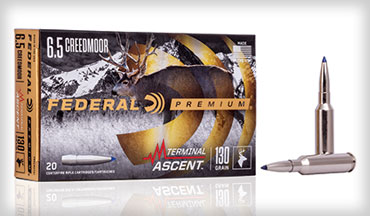 Decades of product testing has led to the development of what may be the world's most versatile hunting projectile, and Federal claims that Terminal Ascent is the best hunting bullet they've ever built. For long range, short range, or anything in between, Federal Terminal Ascent is an excellent hunting load.