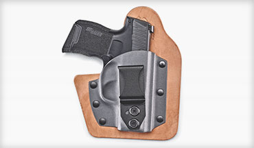 The Vedder Holsters RapidTuck IWB Hybrid Holster offers both five-star comfort and convenience.