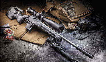 The Vudoo V-22M in .17 HMR represents the top of the food chain in the .17 HMR world right now. If you have a problem with varmints and want a high-quality rimfire rifle with tremendous aftermarket support, the V-22M is the rifle for you.