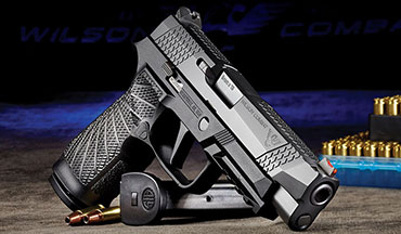 Wilson Combat has enhanced the P320 9mm semiautomatic pistol.