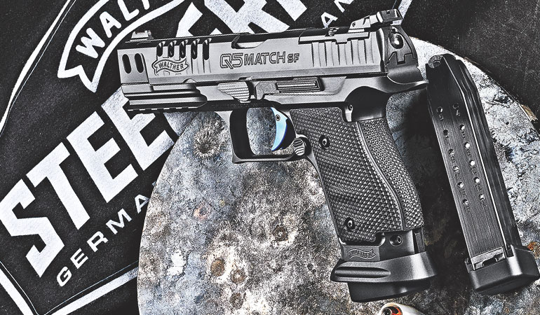 The Walther Q5 Match SF Pro 9mm