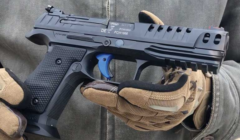 Guns & Ammo got some serious hands-on time with the new Q5 Match SF this past December.