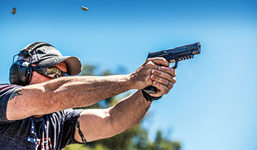 The WCP320 is the next big thing in striker fired guns. This one is where striker-­fired reliability meets custom-­gun performance, and it doesn't get any better than this.