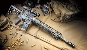 The new Wilson Combat 300 HAM'R provides maximum ballistic horsepower from an AR-15.