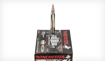 Tom Beckstrand field tests Winchester's new Expedition Big Game Long Range Cartridge.