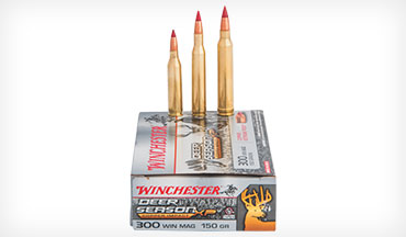 The new Winchester Deer Season XP Copper Impact bullet was engineered specifically for deer.