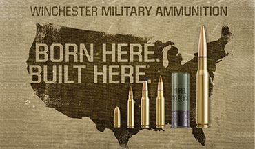 Winchester Ammunition has been selected for a $38 million contract by the U.S. Department of Defense (DOD).