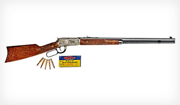 Winchester celebrates 125 years of the Model 1894 with a pair of fancy anniversary versions, and Boddington recalls some of his adventures with the classic lever gun.