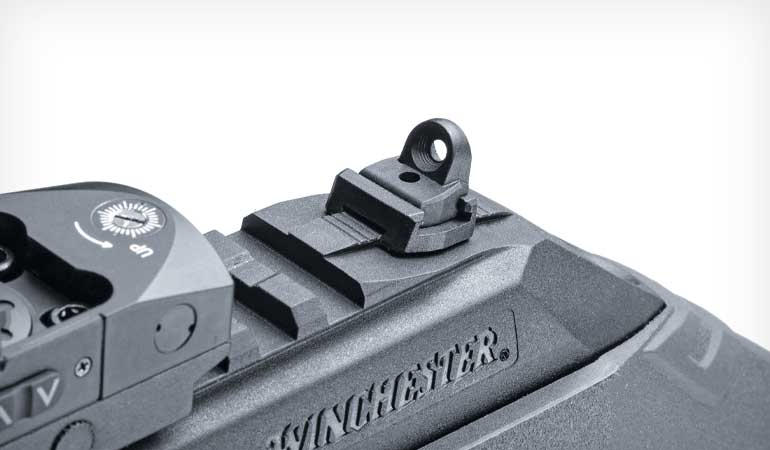 Winchester-Wildcat-22-Review-Rear-Sight