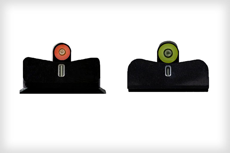 XS Sights DXT2 Big Dot Night Sights for M&P9 Shield EZ and HK P7 Series