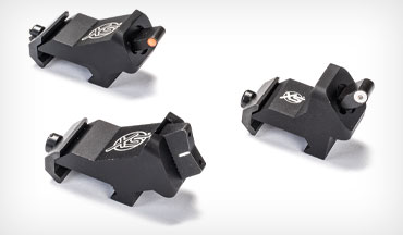 XS Sights' tactical rifle sights are angled to win.